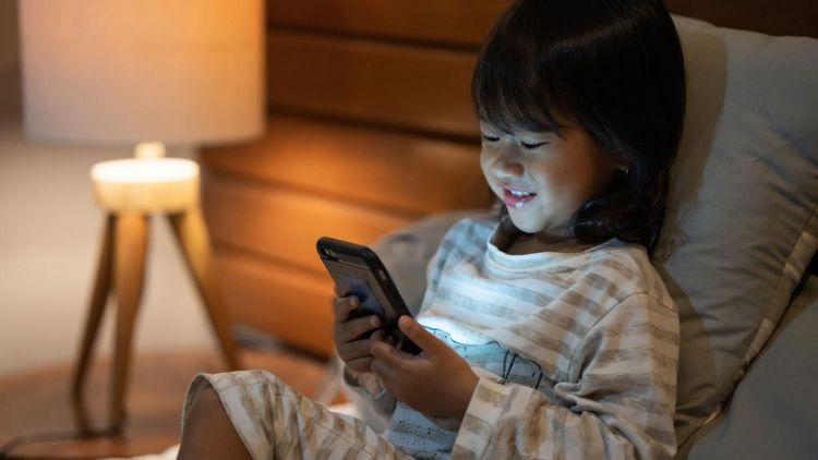 anak kecanduan gadget