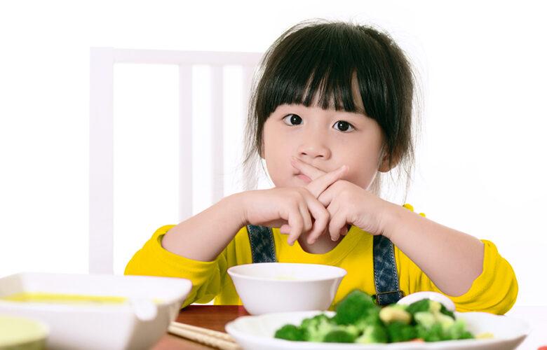 anak tidak mau makan nasi